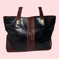 Vintage Marino Orlandi Shopper Tote XXL from Italy