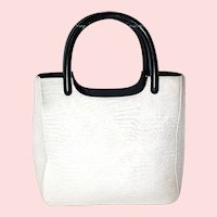 Prada Harako Pony Hair Small Shopper from Italy