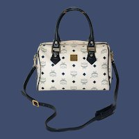 Vintage MCM Speedy Valise from the Viseto Collection