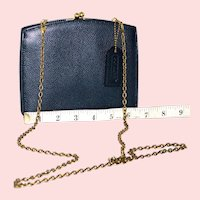 Vintage Coach Madison Tuxedo Convertible Evening Clutch from Italy