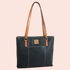 Vintage  Dooney & Bourke Pebble Grain Small Lexington Shopper Model R342