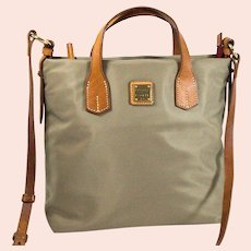 Vintage Dooney & Bourke Cleo Mail Carrier Satchel