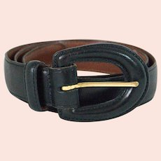 Vintage Coach Women's Leather Belt Model# 3901