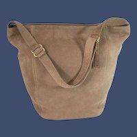 Vintage Coach Sonoma Soft Large Bucket Nubuc Style# 4943