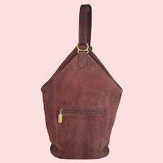 Vintage Coach Sonoma Flat Pack Sling Nubuc Style# 4944