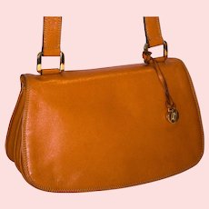 Vintage Goldpfeil Crossbody Bag