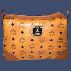 Vintage MCM Messenger from the Visetos Collection