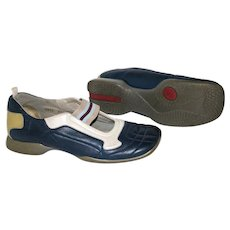 Vintage Prada Sport Slip-on Athletic Shoes from Italy Sz-39.5/US Sz-7