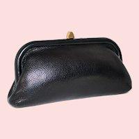 1950s Roger Van S. Pebbled Leather Clutch