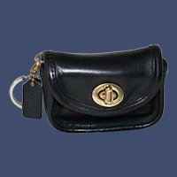 Vintage Coach Mini City Bag Key Pouch Model #7105