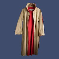 1970s Bonnie Cashin WeatherWare Trench Coats for Russ Taylor