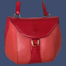 1980s Mark Cross Equestrian Pouch from Italy