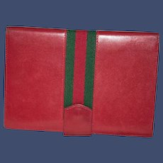 Vintage Gucci Passport Wallet from Italy