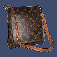 Vintage Louis Vuitton Musette Salsa Monogrammed Handbag