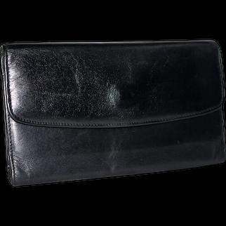 1990s Coach Combination Wallet/Chequebook