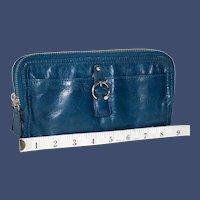 Vintage Tano Double Zip-Around Wallet