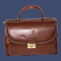 Vintage Goldpfeil Business Satchel