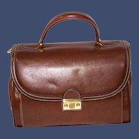 Vintage Goldpfeil Business Satchel