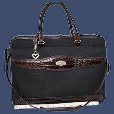 Vintage Brighton for Business Hearts Laptop Briefcase
