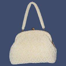 1950's Framed Beaded Handbag