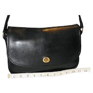 Vintage Coach City Bag U.S. Model in Black