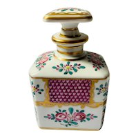 Sampson Cologne or Perfume Bottle in the Chinese export porcelain style