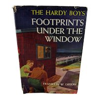 "Hardy Boys Book ""Footprints Under the Window"" 1933"