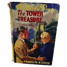 "Hardy Boys Book ""The Tower Treasure"" 1927"