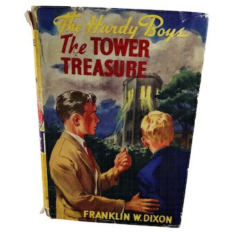 "Hardy Boys Book ""The Tower Treasure"" 1927"