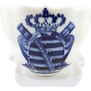 Meissen porcelain cup with Coat of Arms