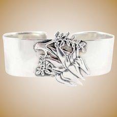 Figural Sterling Silver Australian Napkin Ring
