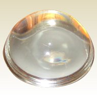 Vintage Glass Dome Paperweight