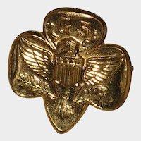 Girl Scout Membership Pin - 1950's - 1960's.