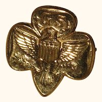 Girl Scout Membership Pin - 1950's - 1960's.