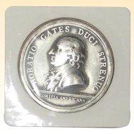 Horatio Gates Pewter Bicentennial Medal