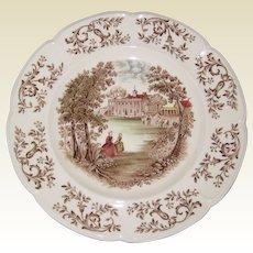 "Johnson Brothers Windsorware ""Mt. Vernon"" 10"" Dinner Plate"