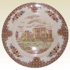 "Brown and Ritchie English Castles 10 1/2"" Dinner Plate - Hever Castle"