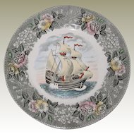 Adams Plate - The Mayflower II - 9 3/4""