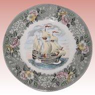 """Adams Plate - The Mayflower II - 9 3/4"""""""