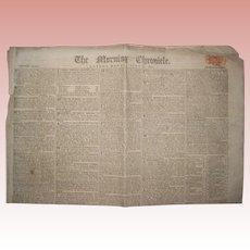 Morning Chronicle - London, Monday, July 21, 1817 - Newspaper