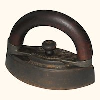 Bless and Drake Sad Iron with Bentwood Handle