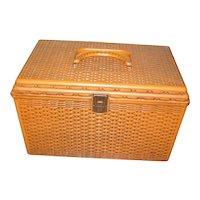 Wilson Wil-Hold Sewing Basket - Hard Plastic Basket
