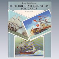Historic Sailing Ships - A Collection of 24 Full Color Postcards - John Batchelor 1992