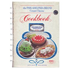 The Philadelphia Brand Cream Cheese Cookbook (100th Anniversary) First Edition/Printing August 1981