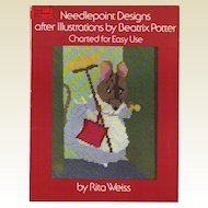 Needlepoint Designs After Illustrations by Beatrix Potter: Charted for Easy Use (Dover needlework series)