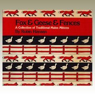 Fox and Geese and Fences: A Collection of Traditional Maine Mittens Paperback – 1983 by Robin Hansen