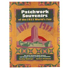 Patchwork Souvenirs of the 1933 World's Fair by Merikay Waldvogel and Barbara Brackman