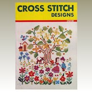 Ondori Book of Cross Stitch Designs - 1975 - Printed in Japan