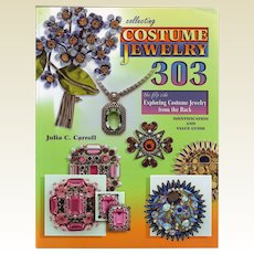 Collecting Costume Jewelry 303: The Flip Side, Exploring Costume Jewelry from the Back, Identification and Value Guide