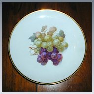 Eschenbach Bavaria - Germany Grape Plate